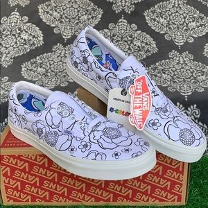 VANS ERA U-COLOR FLORAL/TRUE WHITE MEN'S